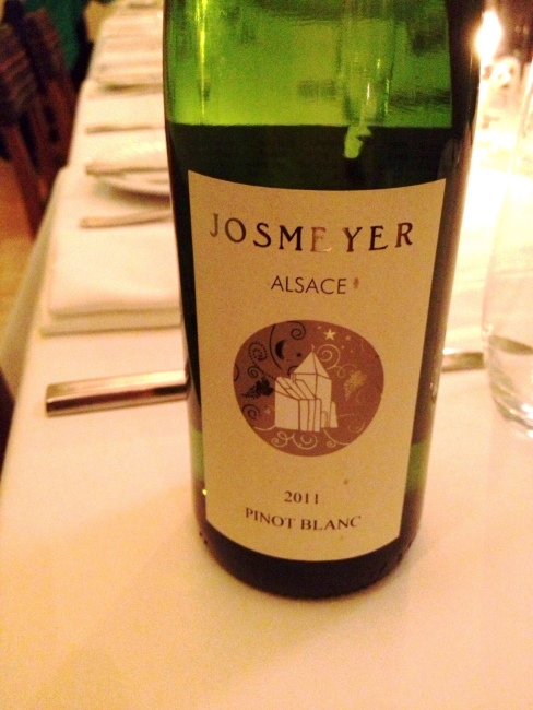 Josmeyer - most are really good, this one is GREAT. Elegant white florals, and another biodynamic one. $17