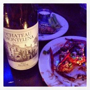 drink me: chateau montelenariesling