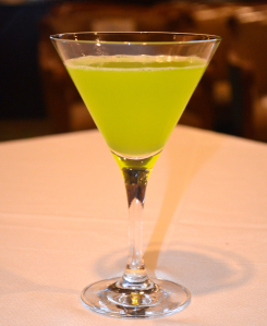 waldorf tennis ball cocktail