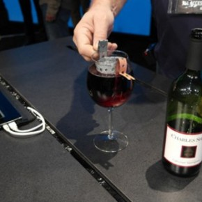 power your computer – with wine