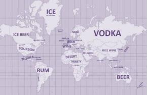 world map ofdrinking