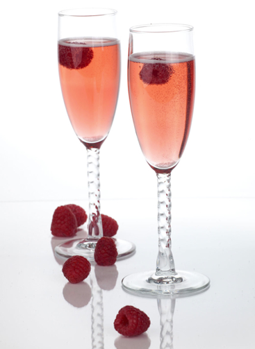 2 ounces Caposaldo Moscato IGT 1 ounces Caposaldo Prosecco splash of L'Heritier-Guyot Crème de Cassis Pour into a flute and garnish with fresh raspberries.