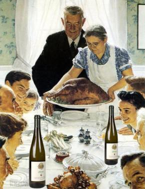 it's thanksgiving: drink whatever the [bleep] you want