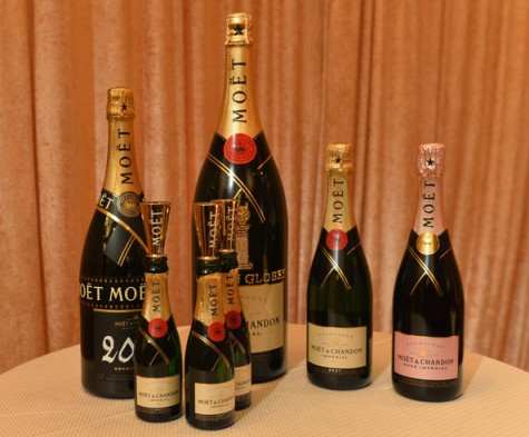 moet mini golden globes