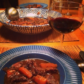 boeuf bourguignon – or bordelais?
