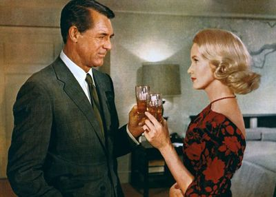 "NORTH BY NORTHWEST: ""I could use a drink. A pint of Bourbon will do."""