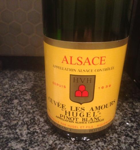 hugel amours pinot blanc wine