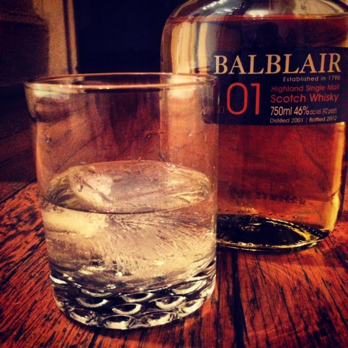 balblair 2001 single malt scotch