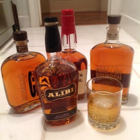 alibi jefferson's rebellion, maker's mark bourbon