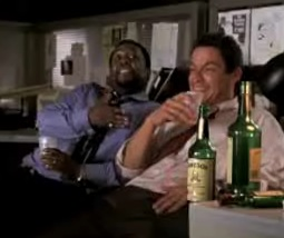 "THE WIRE: ""Bushmill's OK?"" ""That's Protestant whiskey."""