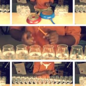 """pharrell's """"happy"""" – on wineglasses!!!"""
