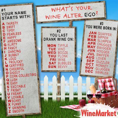 wine alter ego