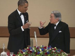 japan really pours it out forobama
