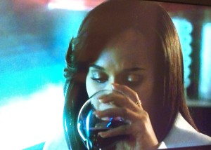 olivia pope what wine is she drinking