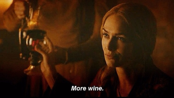 cersei game of thrones more wine