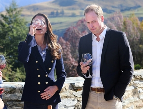 the royals get their grape on!