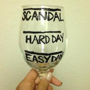 scandal wine recap: it's all about the glasses