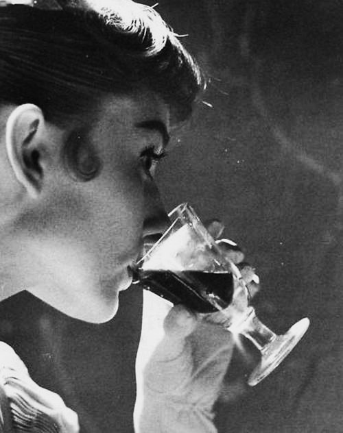 audrey-drinking-wine