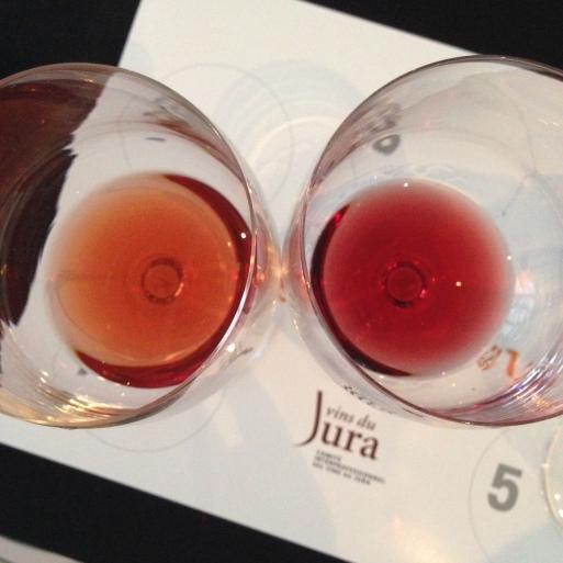 poulsard and pinot noir jura