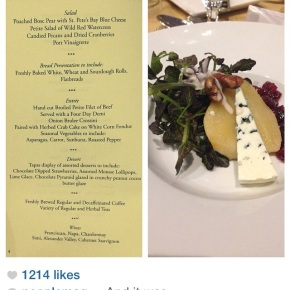 what they drank at the white house correspondents dinner