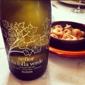 Albariño of the day: Señor da Folla Verde