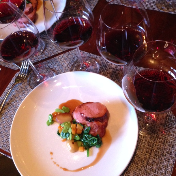 we tried both of the Pinots (along with two others) with duck at Aureole - Pinot perfection