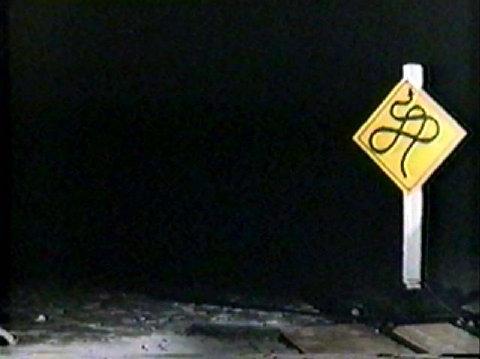 pee wee herman roadsign