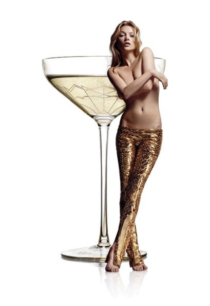 kate moss champagne coupe