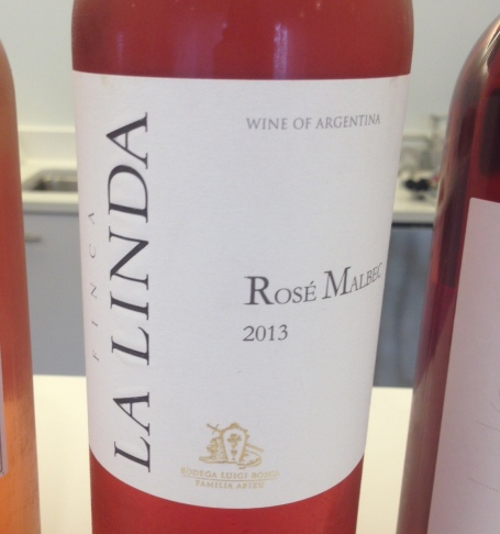 la linda rose wine