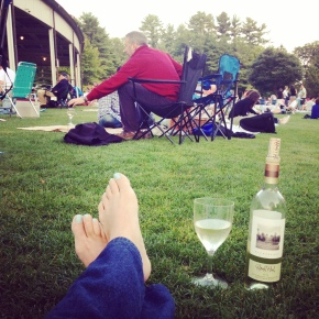 getting your grape on: tanglewood 2014