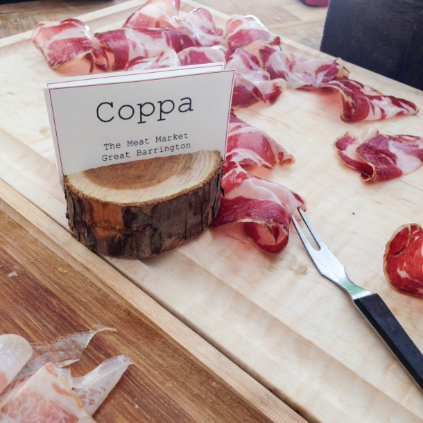 Some of the best coppa I've ever had. Go Berkshire Meat Market!