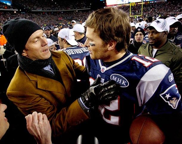 Tom Brady, Drew Bledsoe