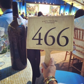 big bottles, bigger bids: auction napa valley