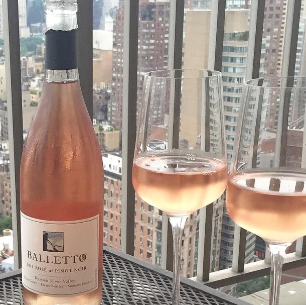 balletto rose wine