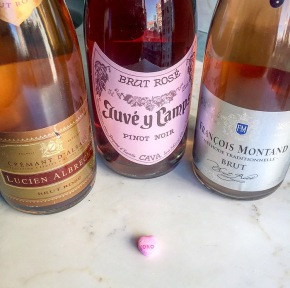 valentines: no roses, just rosés!