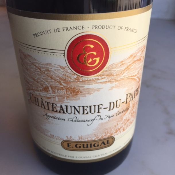 The Guigal CdP 2010 has much more fruit, a small hint of violets, and juicy tannins. $40