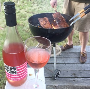 bbq and rosé: an ode