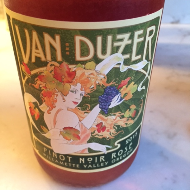 van duzer rose wine