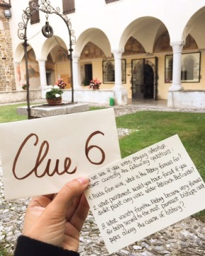 scavenger hunt through friuli