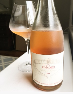 rosé of the week: onward pétillant naturel