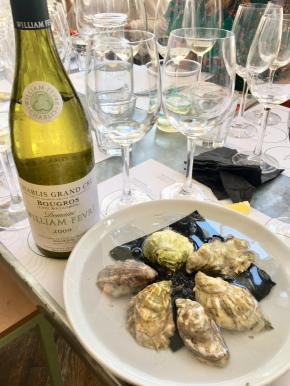 perfect pairing: chablis and oysters