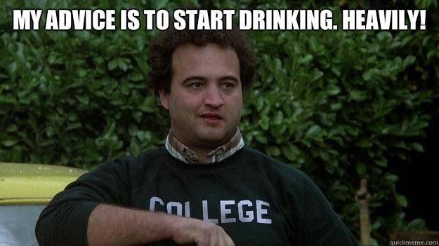Image of: Double Secret Probation fat Drunk And Stupid Is No Way To Go Through Life Dean Wormer Cigar Aficionado Animal House Turns 40 Grapefriend